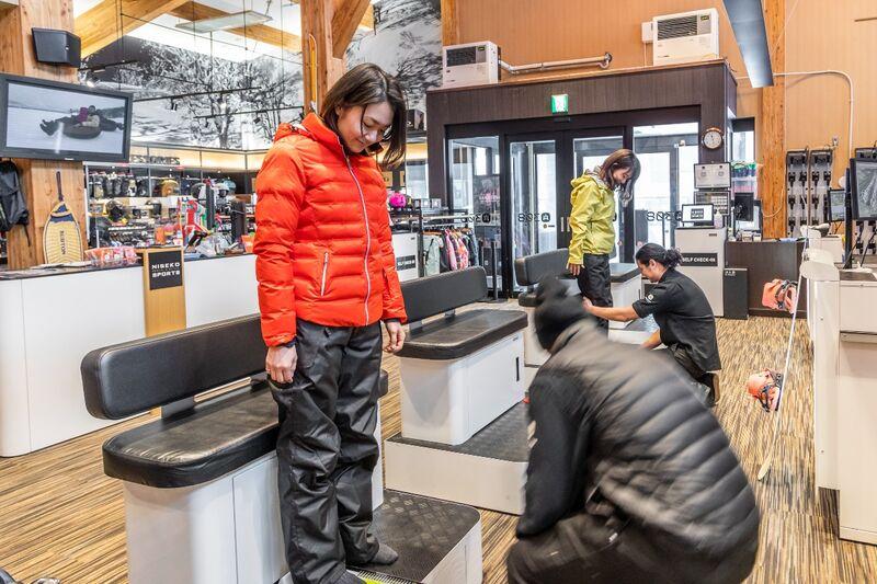 niseko sports rental shop