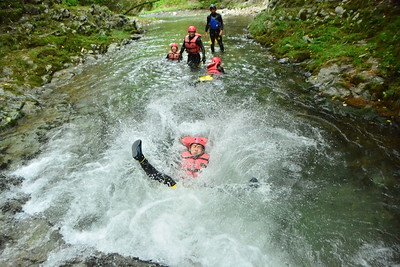 canyoning returning guest