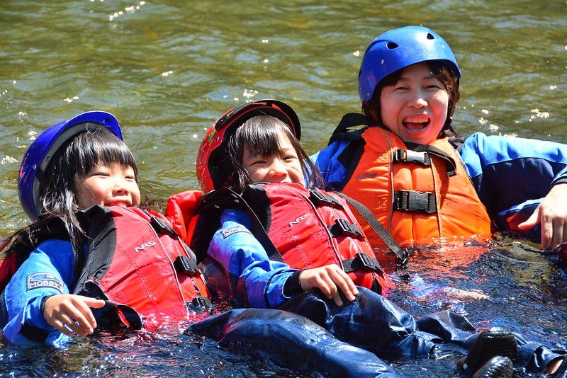 Rafting family pack