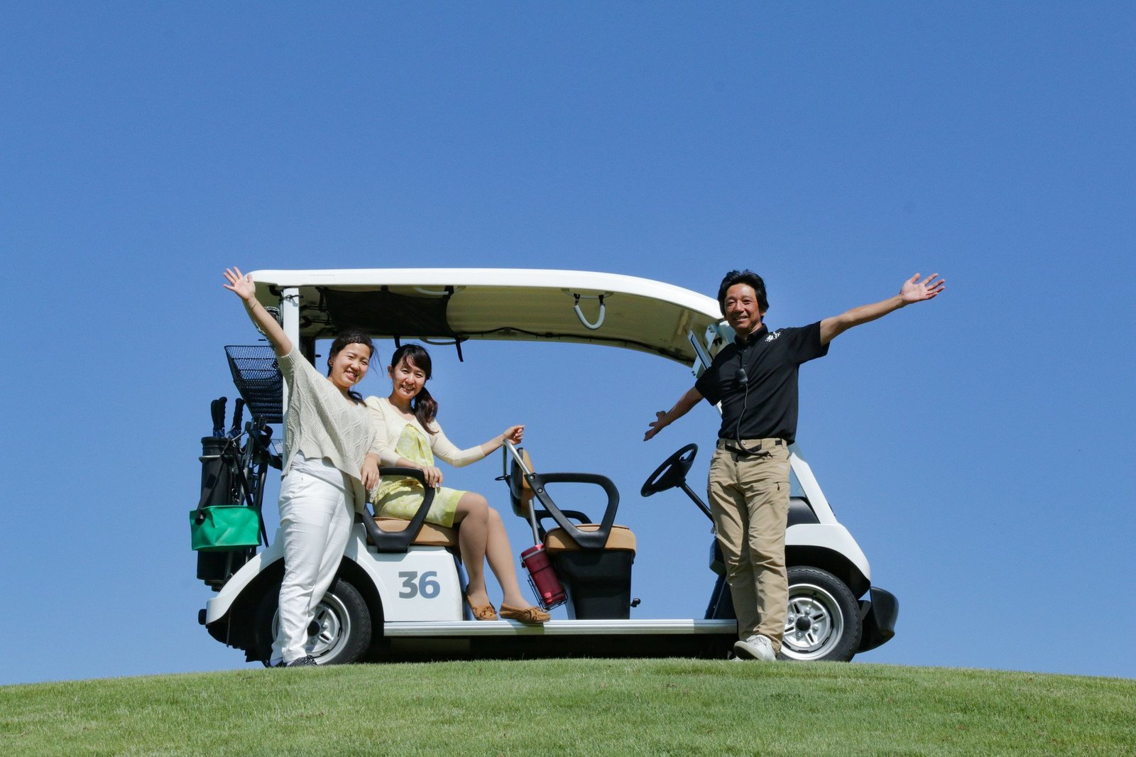 golfcart tour photo spot