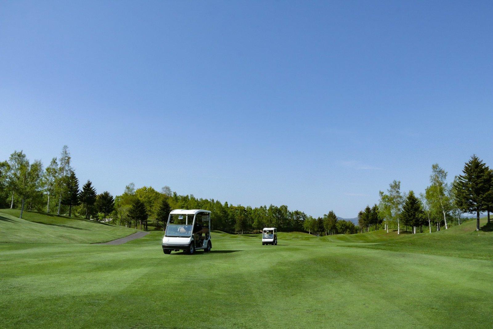 golfcart tour follow
