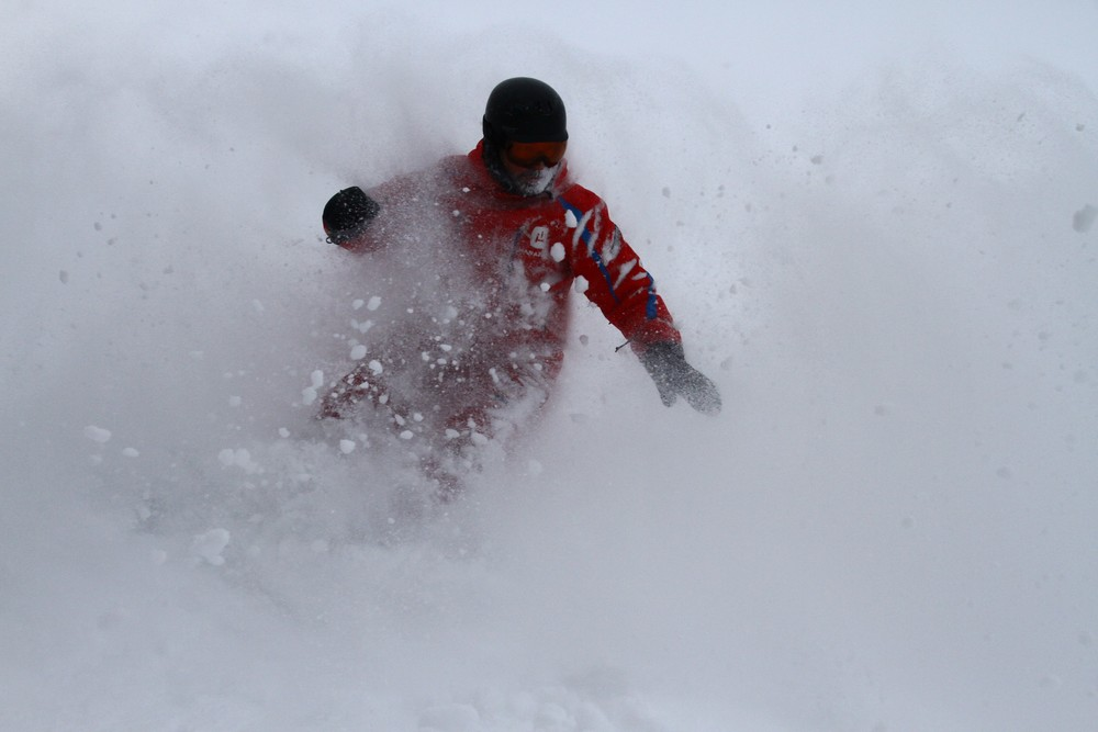 niss instructors are the best at teaching powder riding