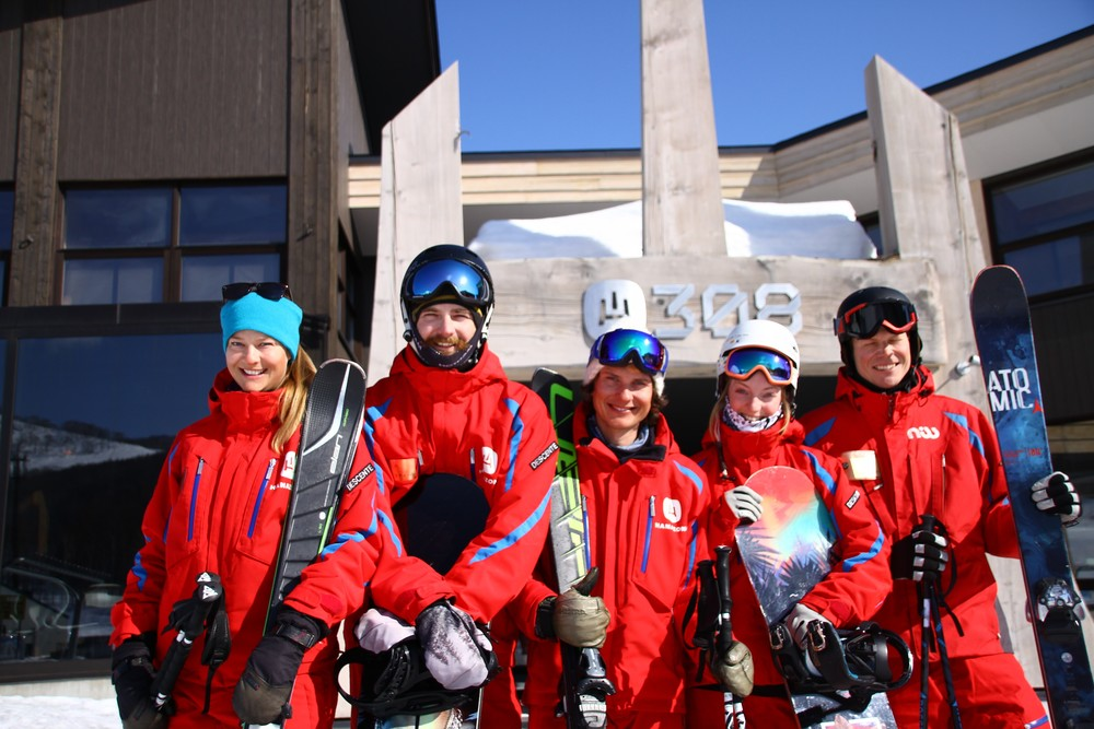 niss ski school is happy to teach you to ski in niseko