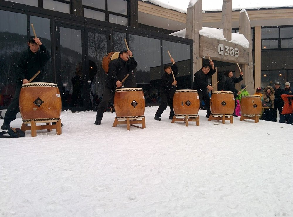 yotei daiko drumming hanazono niseko