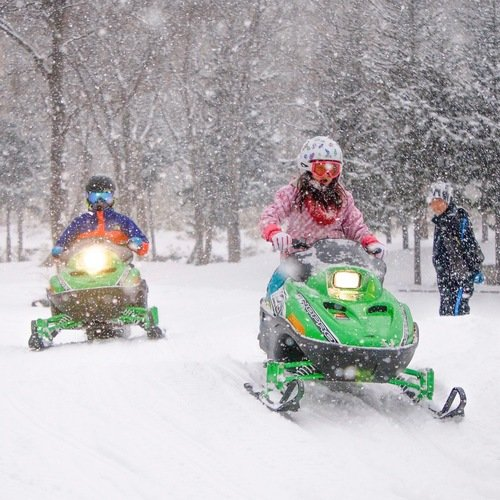 Drive It Yourself! Kids Snowmobile Sneak Peek