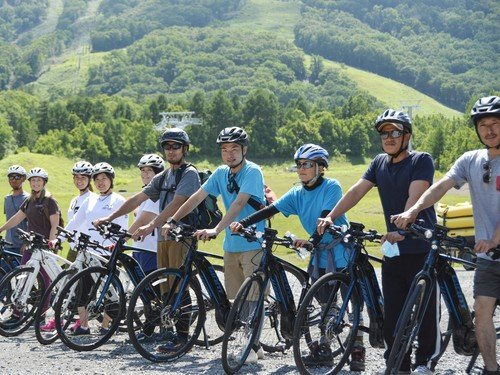 E-bike Tour|Hanazono Summer New Activity.
